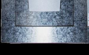 Lámina lisa laminas galvanizadas