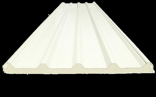 Multytecho Ternium panel aislado para cubiertas y techos.