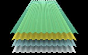 Láminas de poliéster Polylit laminas galvanizadas