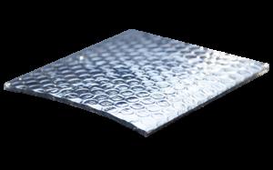 Aislamiento térmico R-Foil laminas galvanizadas